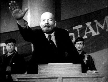 Mikhail-Romm, Lenin, October 1937